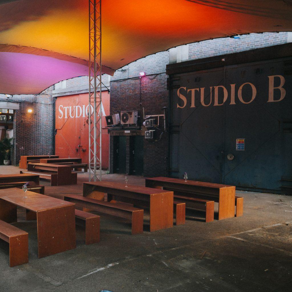 Backyard cinema food yard