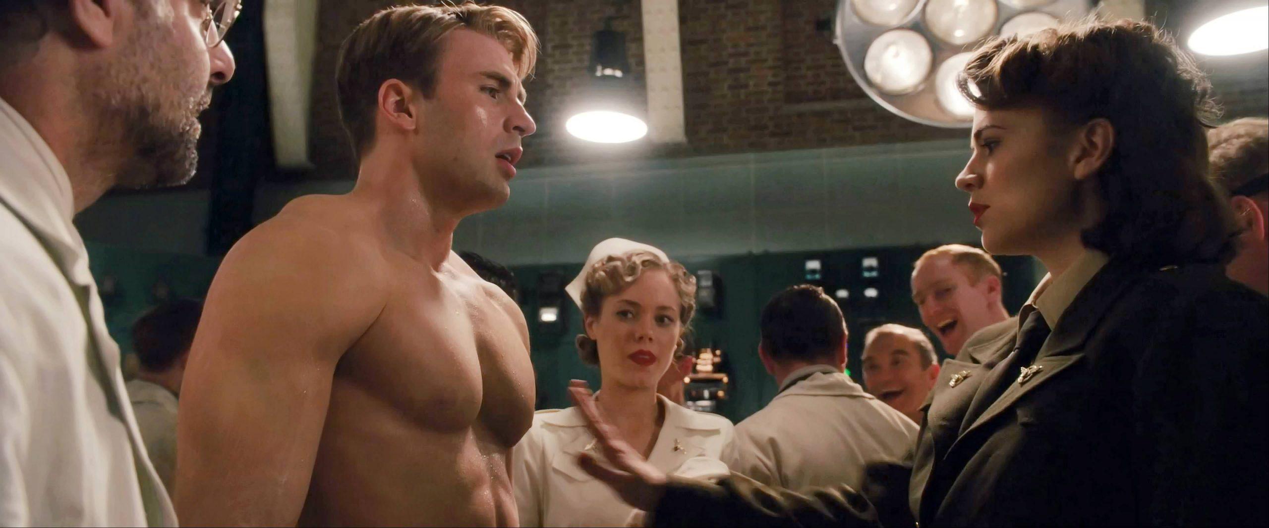 Captain America The First Avenger - movie scene 1