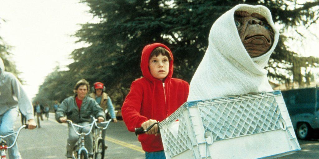 E.T - Movie Scene 1