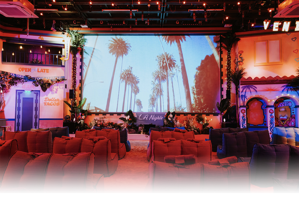 LA Nights cinema interior