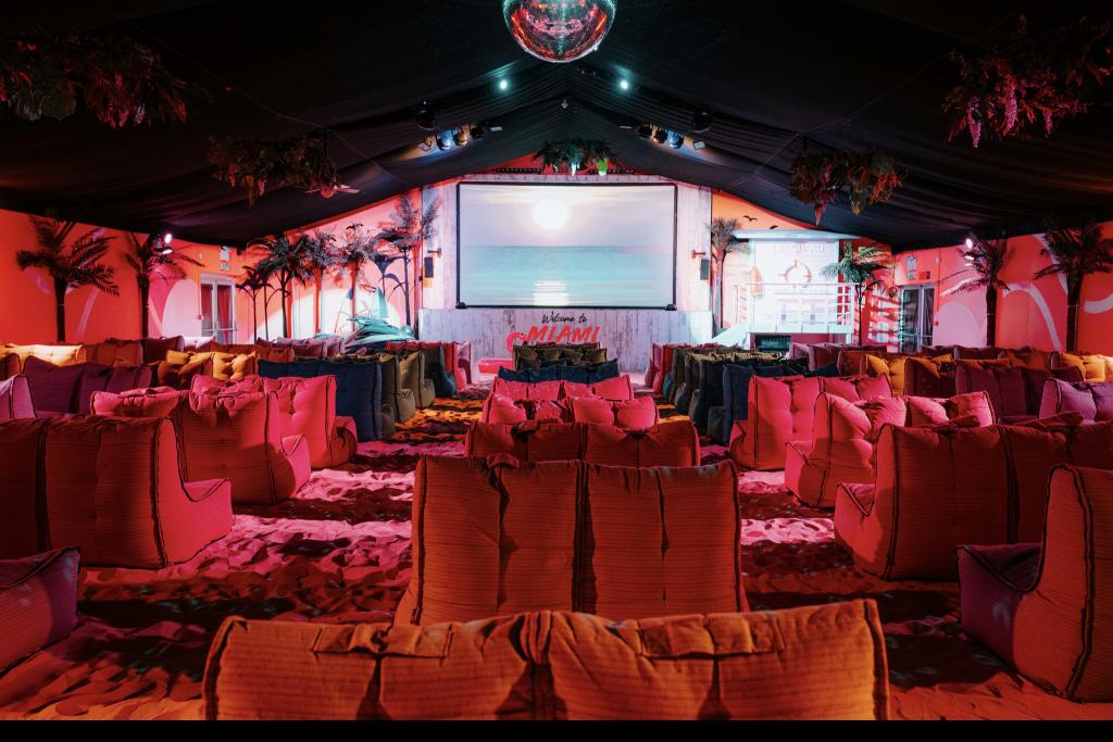 Miami Beach cinema interior