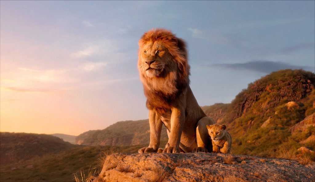 The Lion King - movie scene 2