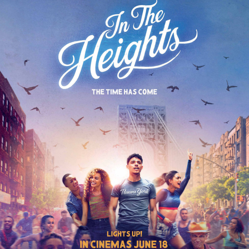 In the heights poster square image