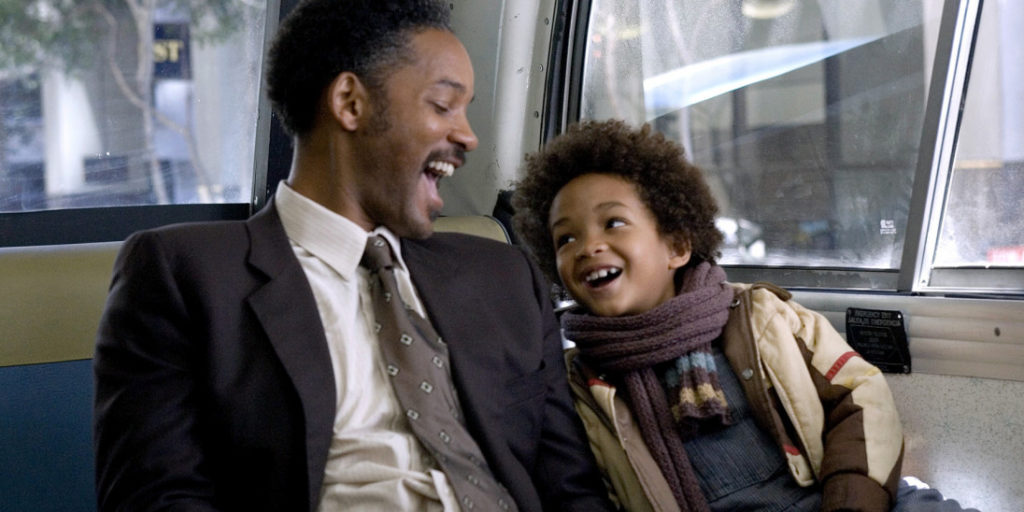 the pursuit of happyness movie scene