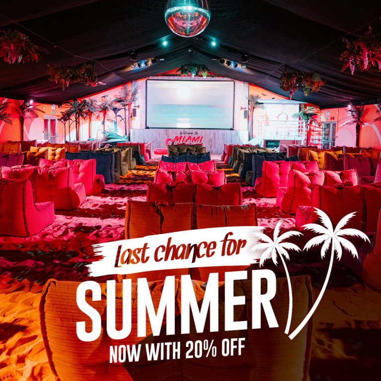 20% Off summer shows