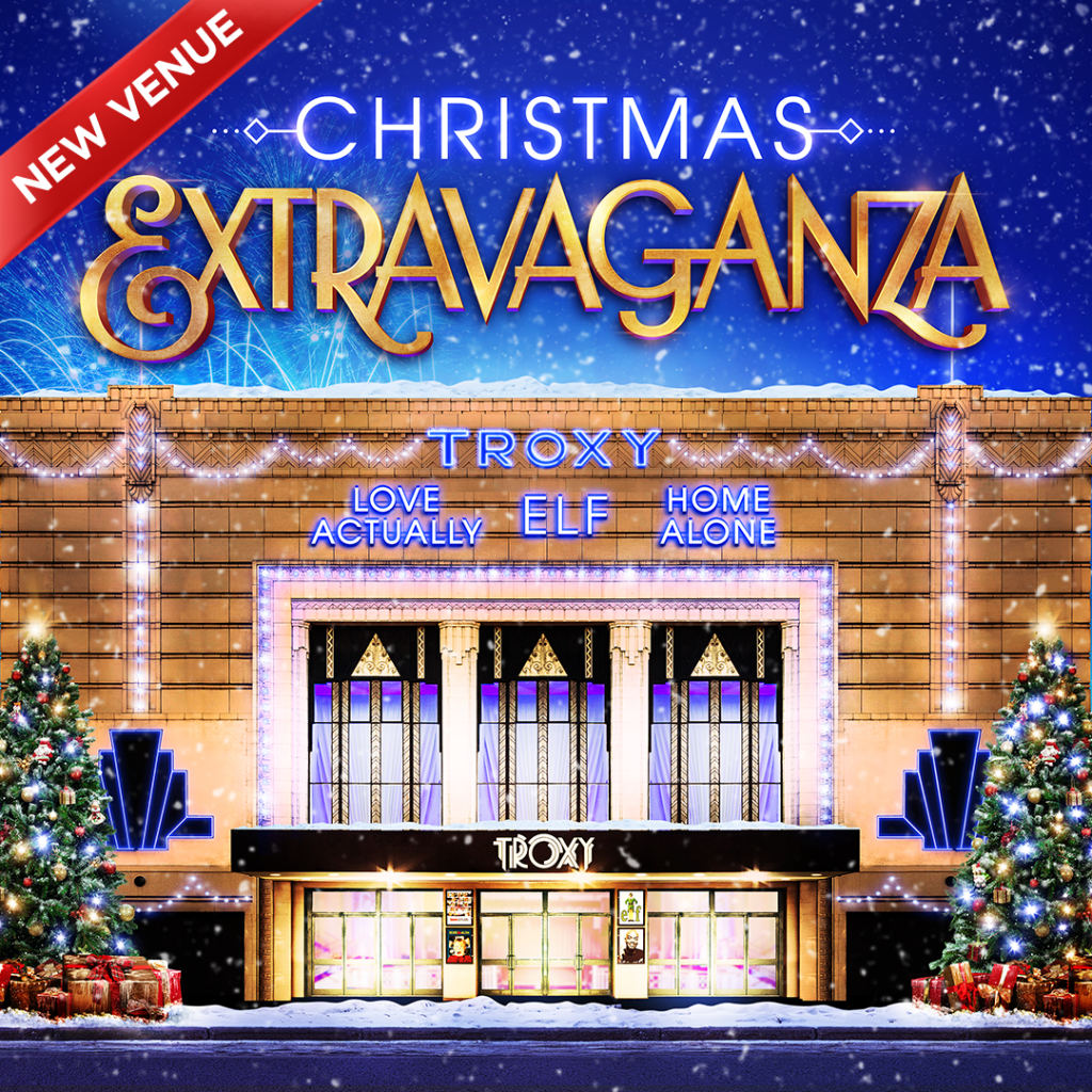 Christmas at Troxy poster
