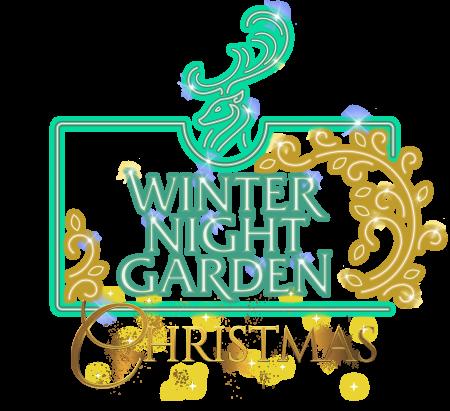 Winter Night Garden Christmas